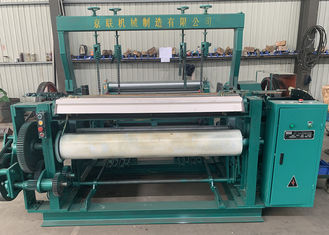 SS Plain Weaving Wire Mesh Making Machine , Metal Mesh Machine 2.5 Tons Weight