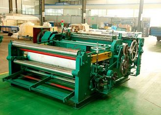 Durable Numerical Control Wire Net Weaving Machine , Stainless Steel Wire Mesh Machine
