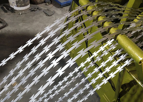 0.5mm Blade BTO-22 30cm Razor Wire Making Machine